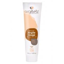 Masque argile rouge - ARGILETZ - 100g