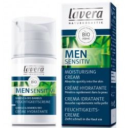 Crème hydratante - LAVERA Men Sensitiv - 30ml