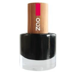 Vernis à ongles 644 Noir - ZAO - 8ml