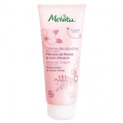 Crème de douche pétales de roses et miel d'acacia - MELVITA - 200ml